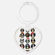 Penguins Keychains