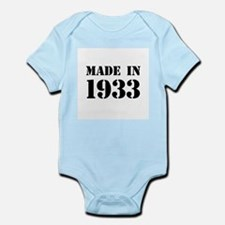 Made in 1933 Body Suit
