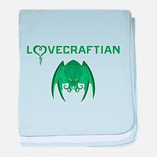 Lovecraftian baby blanket
