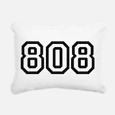 808 Rectangular Canvas Pillow