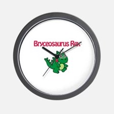 Bryceosaurus Rex Wall Clock