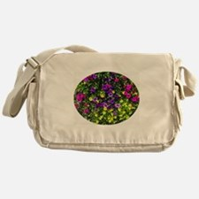 Petite Petunias Messenger Bag