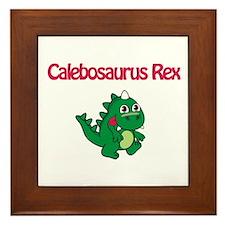 Calebosaurus Rex Framed Tile
