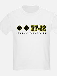 Ski Squaw Valley, KT-22 T-Shirt