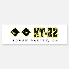 Ski Squaw Valley, KT-22 Bumper Stickers