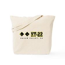 Ski Squaw Valley, KT-22 Tote Bag