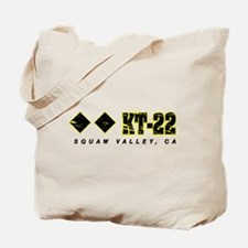 Ski Squaw Valley, KT-22 Tote Bag