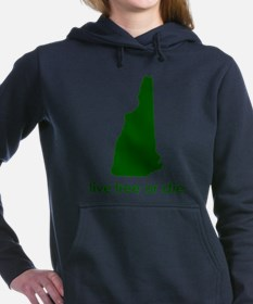 NHgreen.png Women's Hooded Sweatshirt