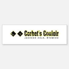 Ski Jackson Hole, Corbert's Couloir Bumper Bumper Bumper Sticker