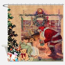 The Night Before Christmas - A Visi Shower Curtain