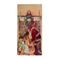 The Night Before Christmas - A Visit F Beach Towel