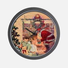 The Night Before Christmas - A Visit Fr Wall Clock