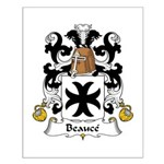Beauce Family Crest Small Poster