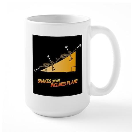 Snakes/Inclined Plane Large Mug