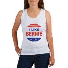 i like bernie stars n stripes Women's Tank Top