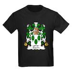 Bazin Family Crest Kids Dark T-Shirt