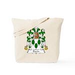 Bazin Family Crest Tote Bag