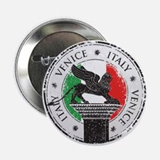 """Venice Italy Stamp 2.25"""" Button"""