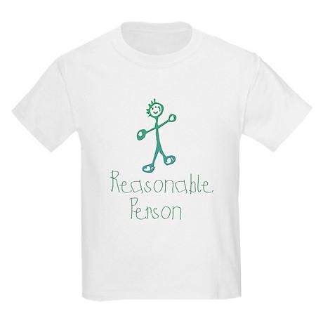 Reasonable Person Kids Light T-Shirt