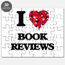 I Love Book Reviews Puzzle