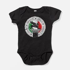 Venice Italy Stamp Baby Bodysuit