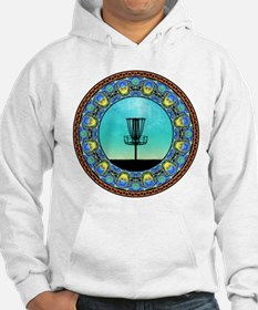 Disc Golf Abstract Basket 5 Hoodie