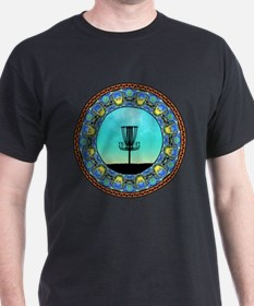 Disc Golf Abstract Basket 5 T-Shirt