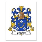 Bayard Family Crest Small Poster