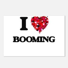 I Love Booming Postcards (Package of 8)