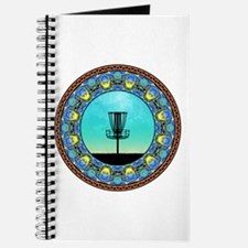 Disc Golf Abstract Basket 5 Journal
