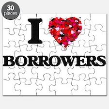 I Love Borrowers Puzzle