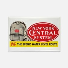 New York Central 2 Rectangle Magnet