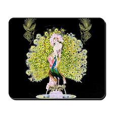 B'fly Lady, Peacock Beauty Rivals Mousepad