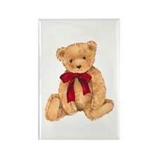 Teddy - My First Love Rectangle Magnet
