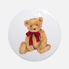 Teddy - My First Love Ornament (Round)
