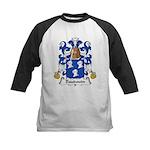 Baudouin Family Crest Kids Baseball Jersey