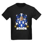Baudouin Family Crest Kids Dark T-Shirt