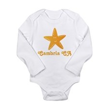 Funny Cambria Long Sleeve Infant Bodysuit