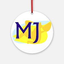MJ Ornament (Round)