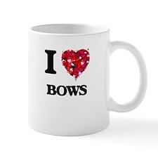 I Love Bows Mugs