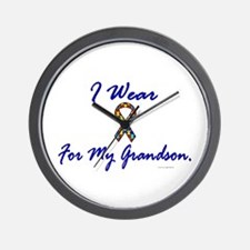 For My Grandson (Puzzle Ribbon) Wall Clock