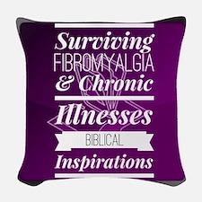 SFCI Biblical Inspirations Woven Throw Pillow