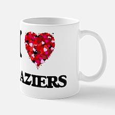 I Love Braziers Mug