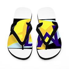 MJ (DARK) Flip Flops