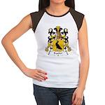 Bastier Family Crest Women's Cap Sleeve T-Shirt