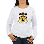 Bastier Family Crest Women's Long Sleeve T-Shirt