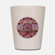 Tara Heaven Mandala Shot Glass