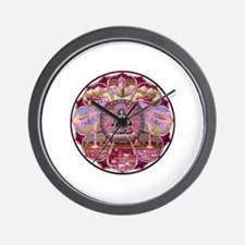 Tara Heaven Mandala Wall Clock