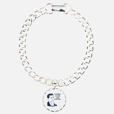 Funny Stank Breath Insul Charm Bracelet, One Charm
