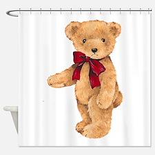 Teddy - My First Love Shower Curtain